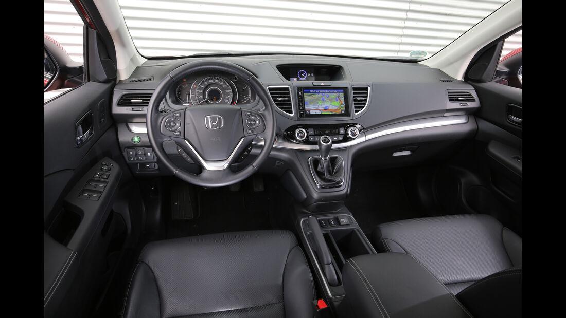 Honda CR-V, Cockpit