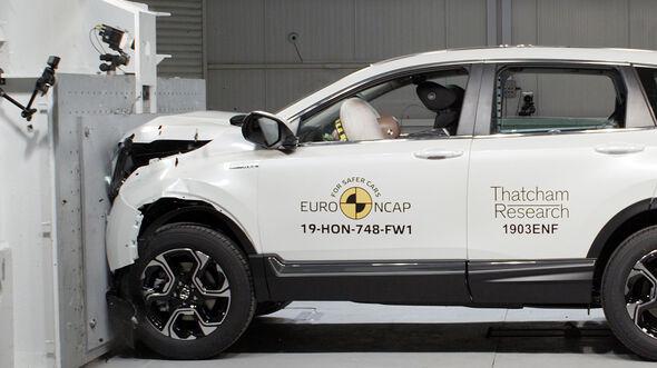 Honda CR-V Crashtest