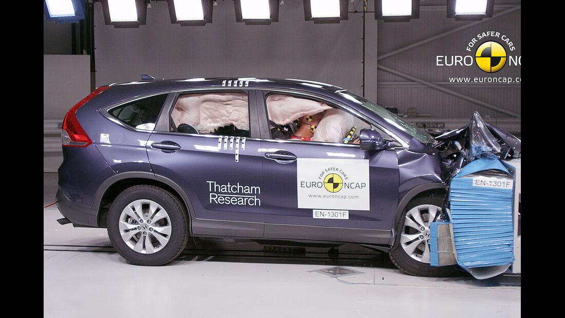 Honda CR-V EuroNCAP-Crashtest
