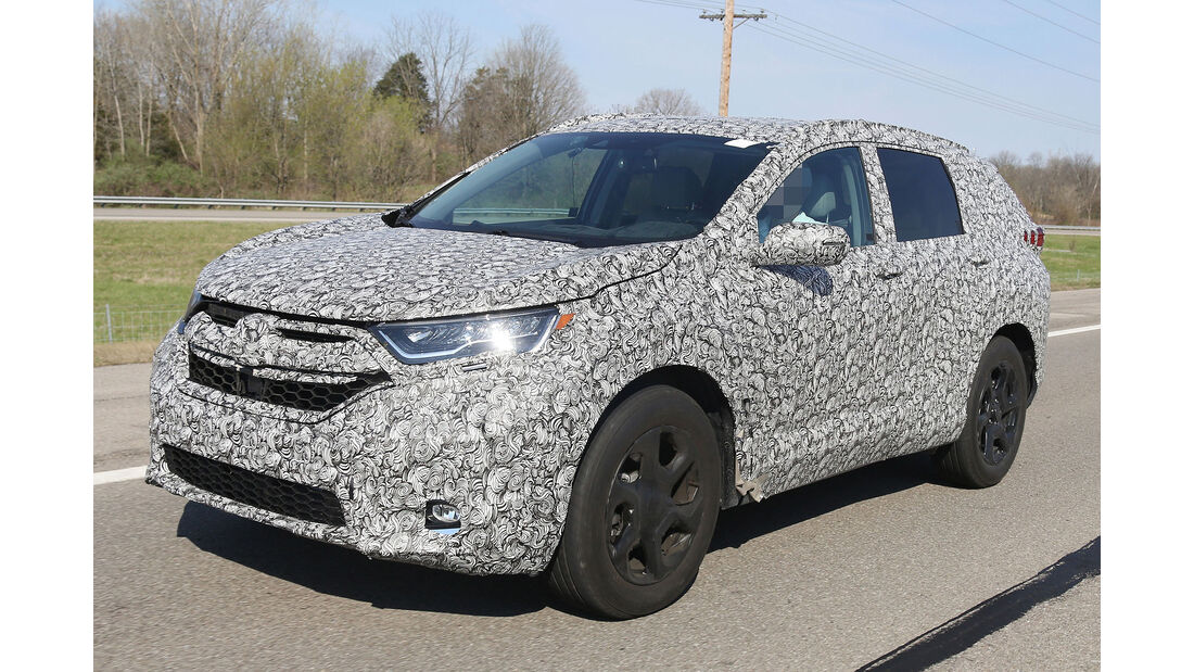 Honda CR-V Facelift Erlkönig