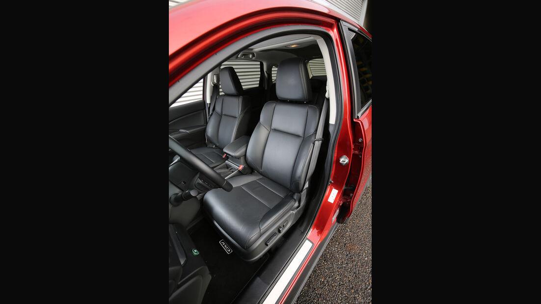 Honda CR-V, Fahrersitz