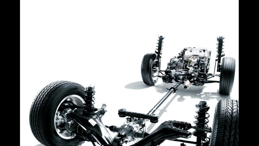Honda CR-V, Fahrwerk