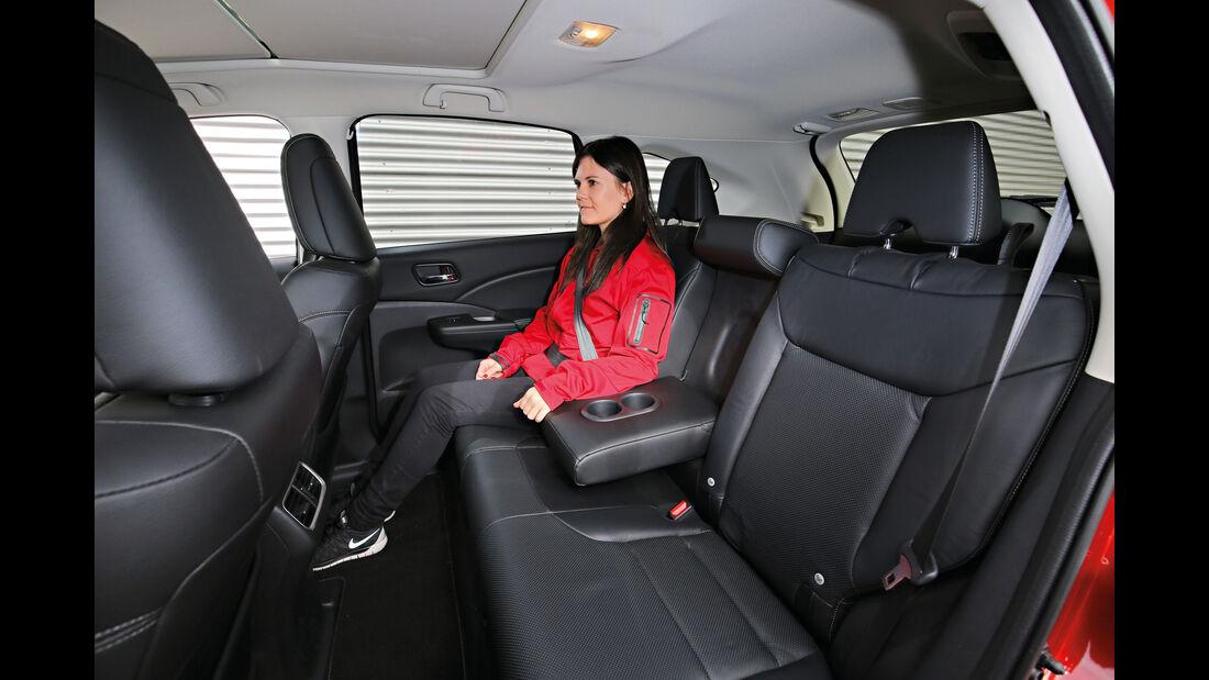 Honda CR-V, Fondsitze