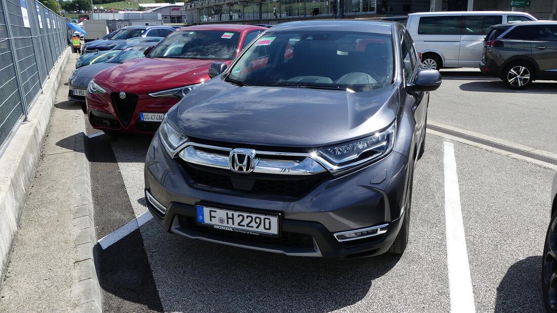 Honda CR-V - Franz Tost - Formel 1 - GP Ungarn 2021