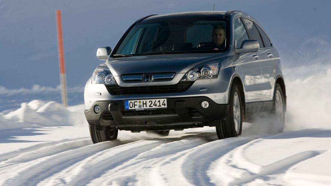 Honda CR-V, Frontansicht