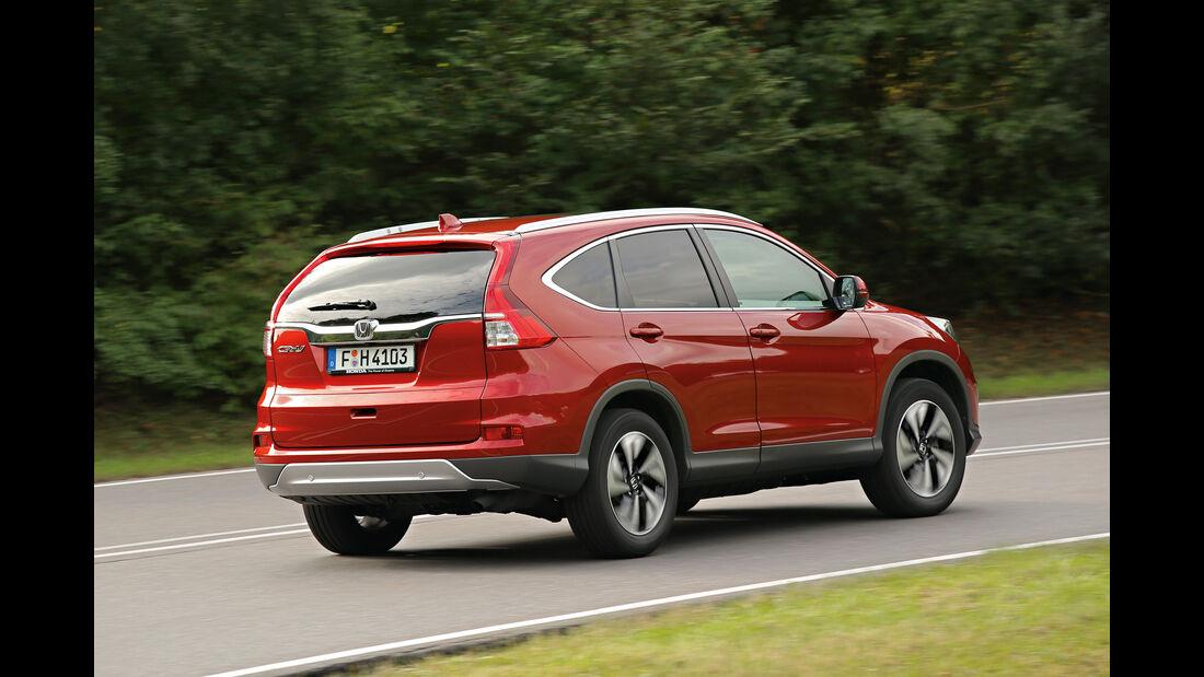 Honda CR-V, Heckansicht
