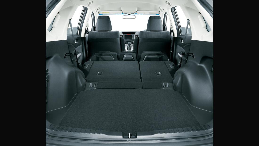 Honda CR-V, Kofferraum