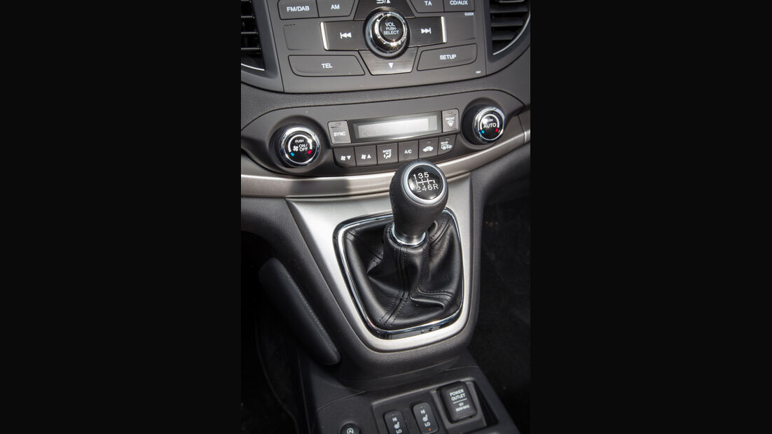 Honda CR-V, Mittelkonsole