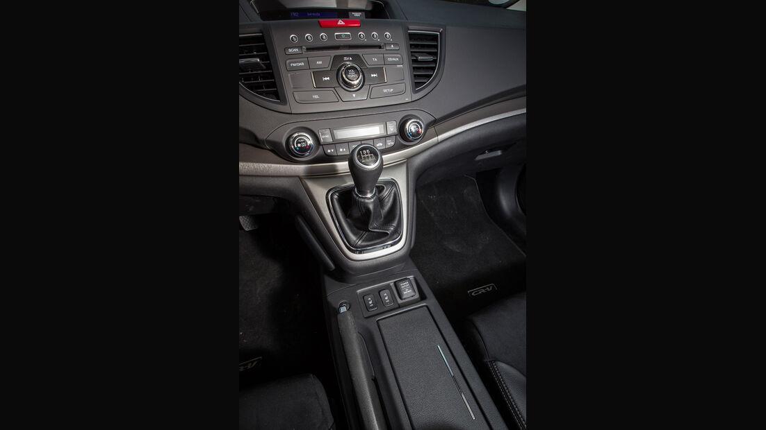 Honda CR-V, Mittelkonsole, Schalthebel