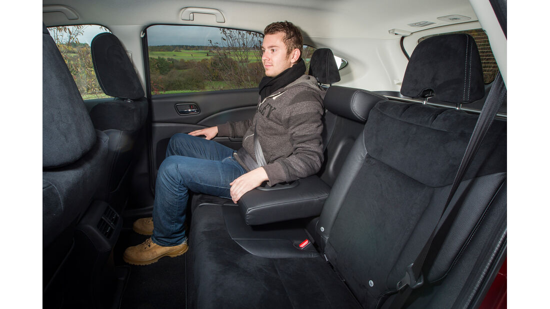 Honda CR-V, Rücksitz, Armlehne