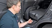 Honda CR-V, Rücksitz, umklappen