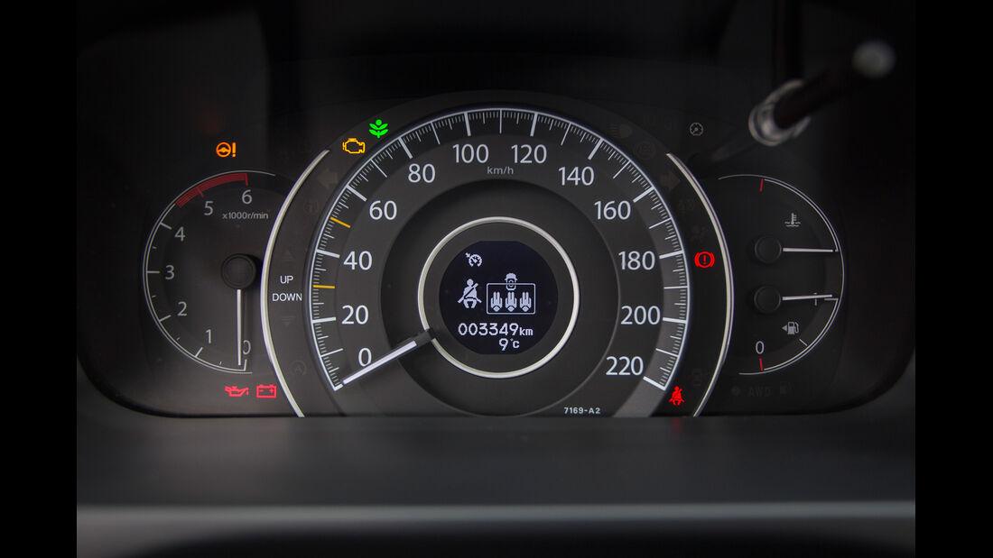 Honda CR-V, Rundinstrumente, Tacho