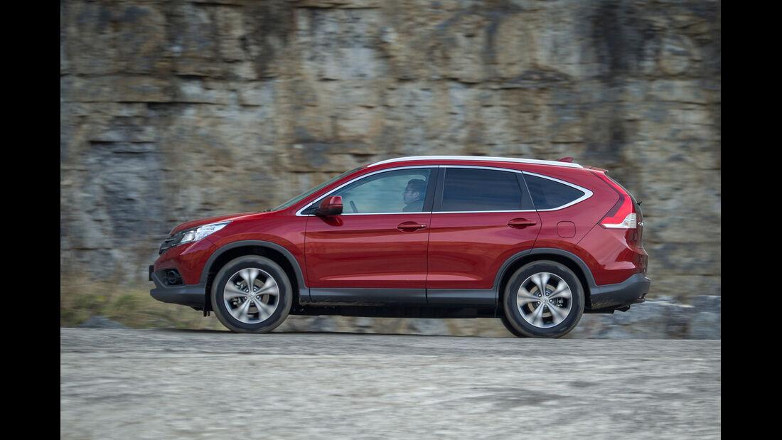 Honda CR-V, Seitenansicht