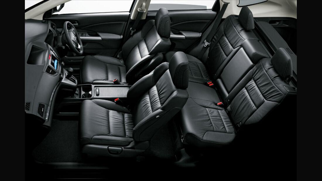 Honda CR-V, Sitze