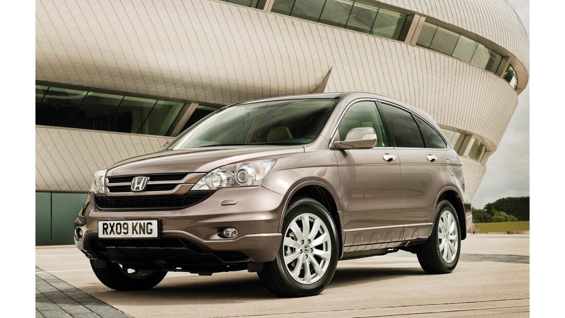 Honda CR-V mit Diesel-Automatik