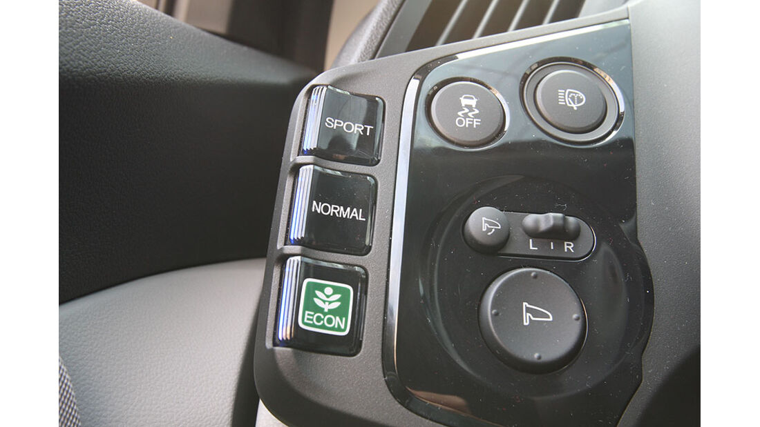 Honda CR-Z, Amaturenbrett