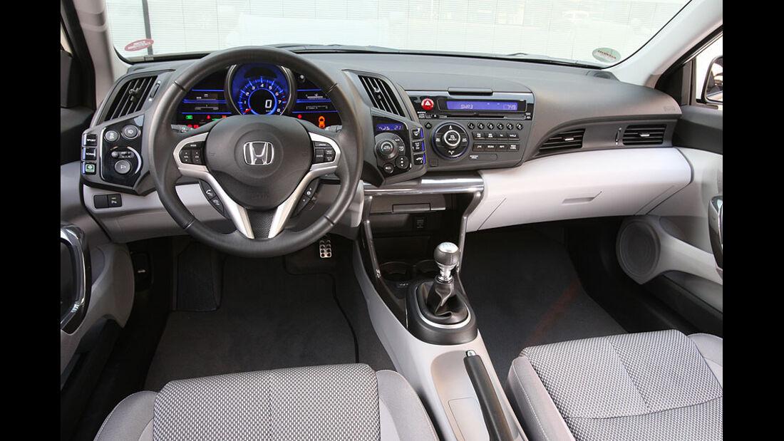 Honda CR-Z, Cockpit