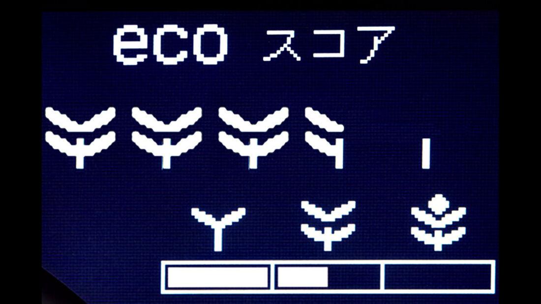 Honda CR-Z GT, Display