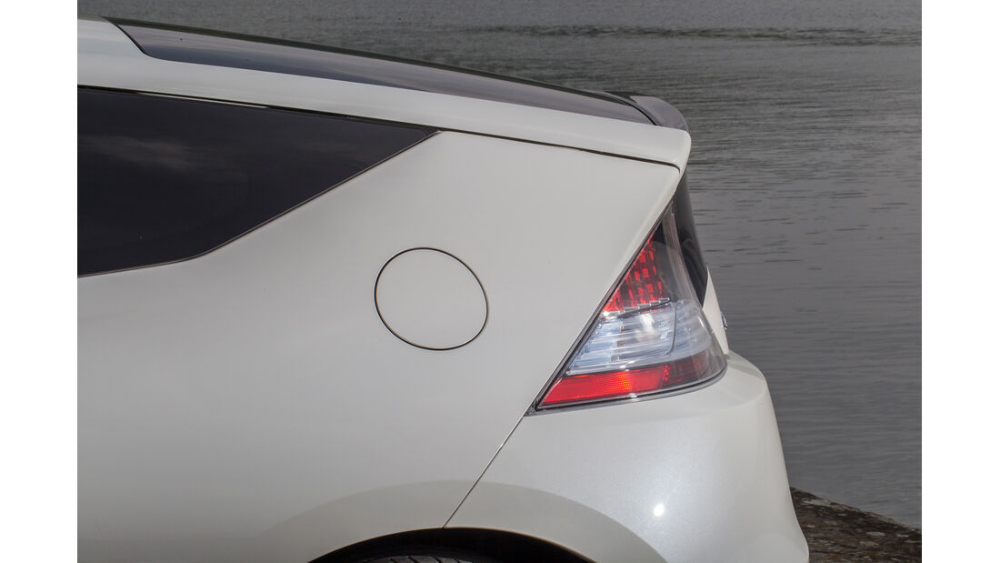 Honda CR-Z, Heck