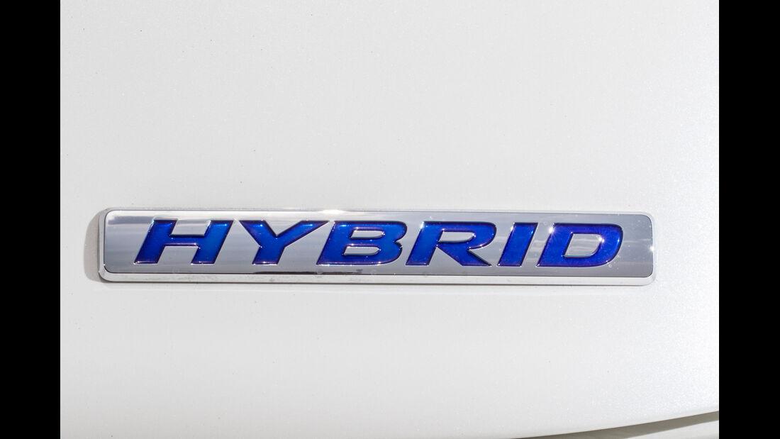 Honda CR-Z, Hybrid, Schriftzug