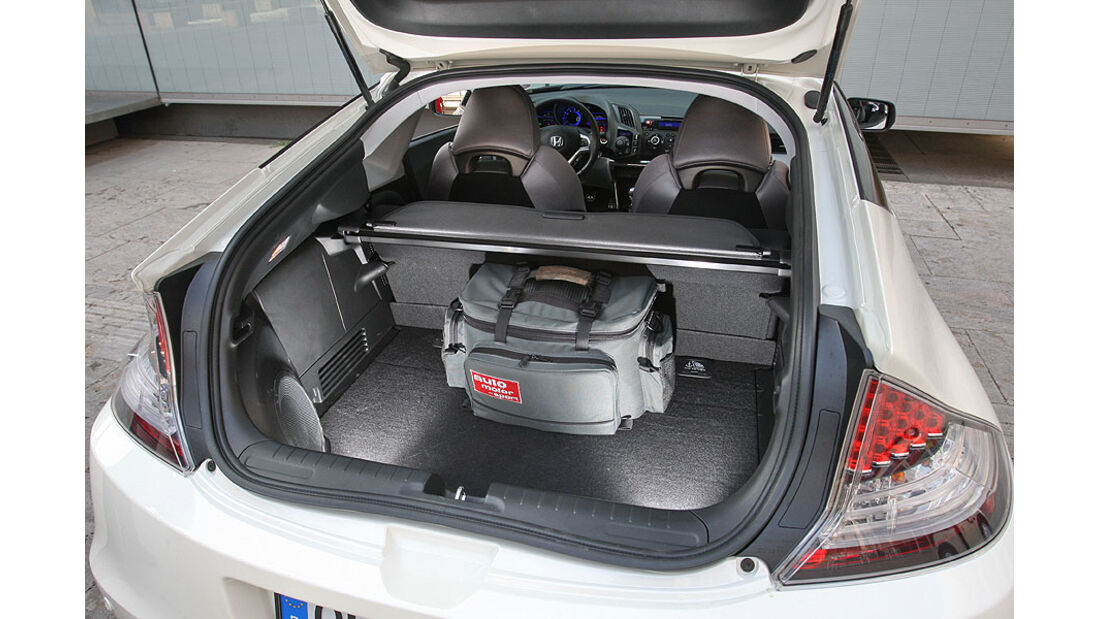 Honda CR-Z, Kofferraum