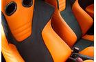 Honda CR-Z Mugen RR, Sitze