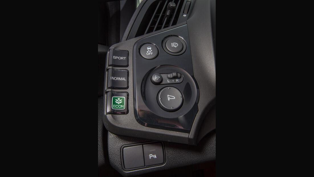 Honda CRX, Bedienelemente