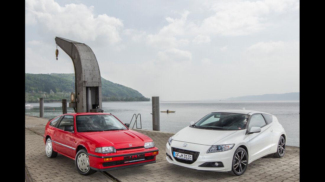 Honda CRX, Honda CR-Z, Frontansicht