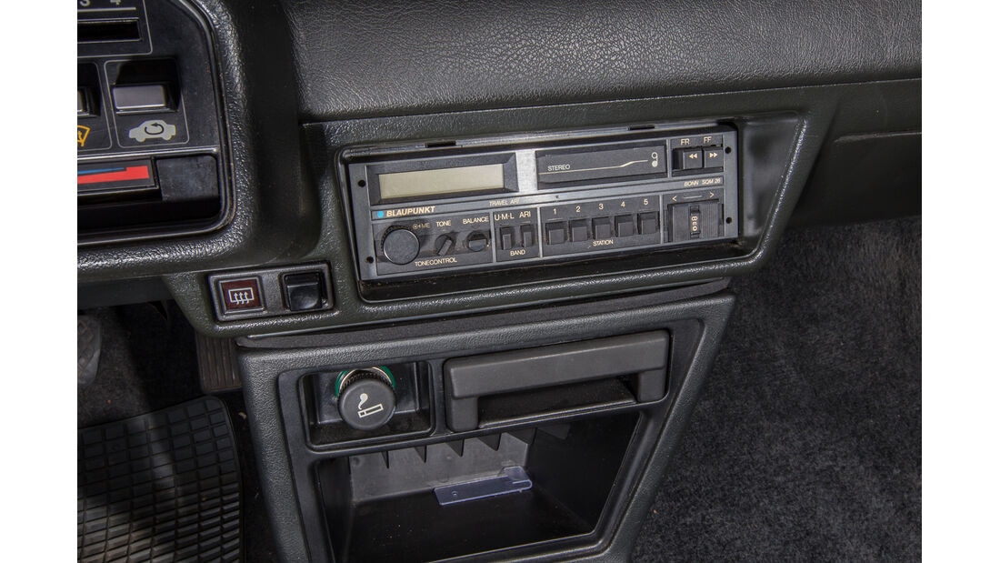 Honda CRX, Mittelkonsole