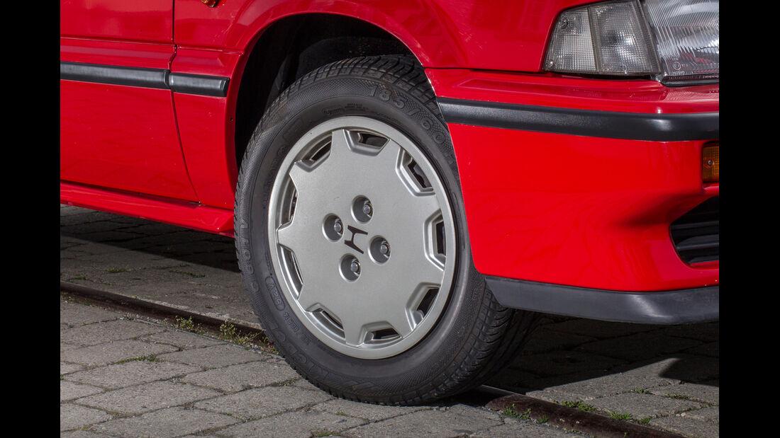 Honda CRX, Rad, Felge