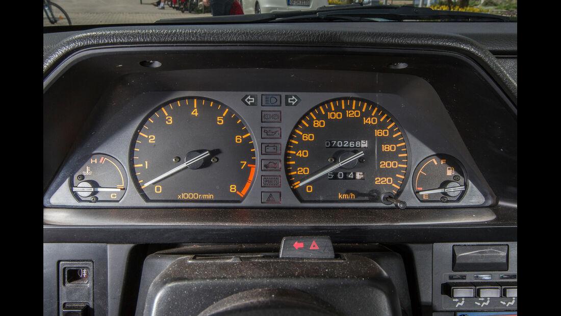 Honda CRX, Rundinstrumente