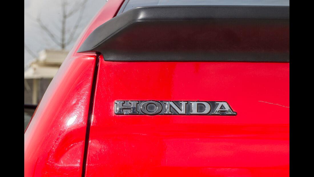 Honda CRX, Schriftzug