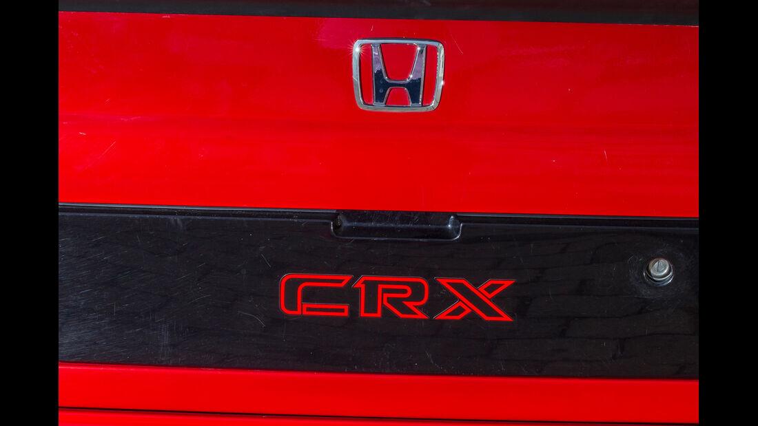 Honda CRX, Typenbezeichnung