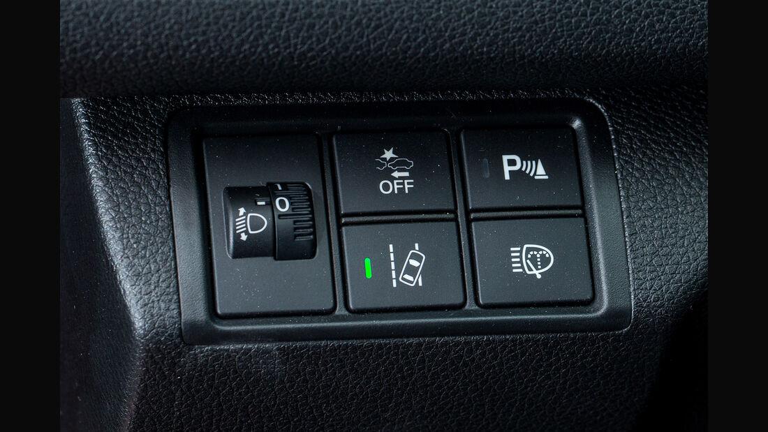 Honda Civic 1.0 VTEC Turbo, Bedienelemente