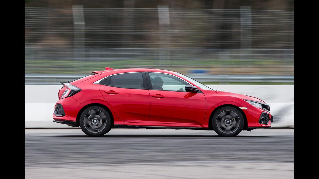 Honda Civic 1.0 VTEC Turbo, Seitenansicht