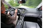 Honda Civic 1.6 i-DTEC, Cockpit, Fahrersicht