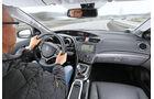 Honda Civic 1.6 i-DTEC, Cockpit, Lenkrad