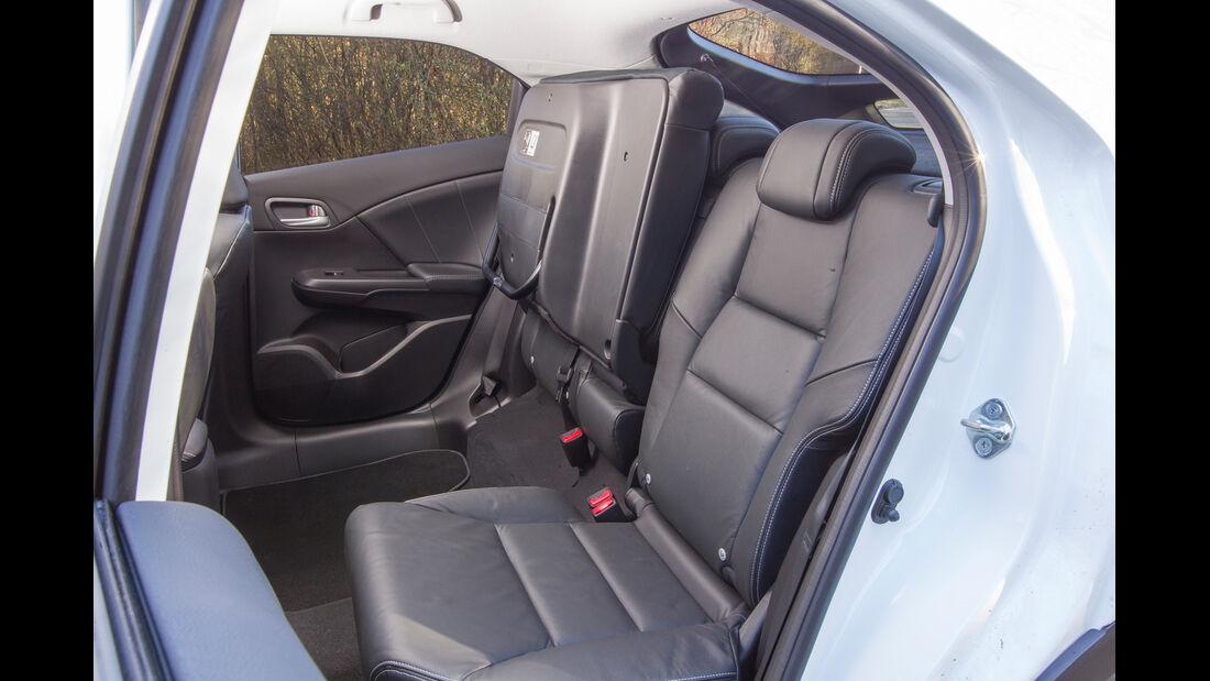 Honda Civic 1.6 i-DTEC, Fahrersitz