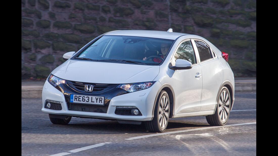 Honda Civic 1.6 i-DTEC, Frontansicht