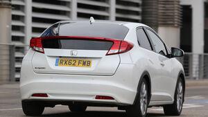 Honda Civic 1.6 i-DTEC, Heckansicht