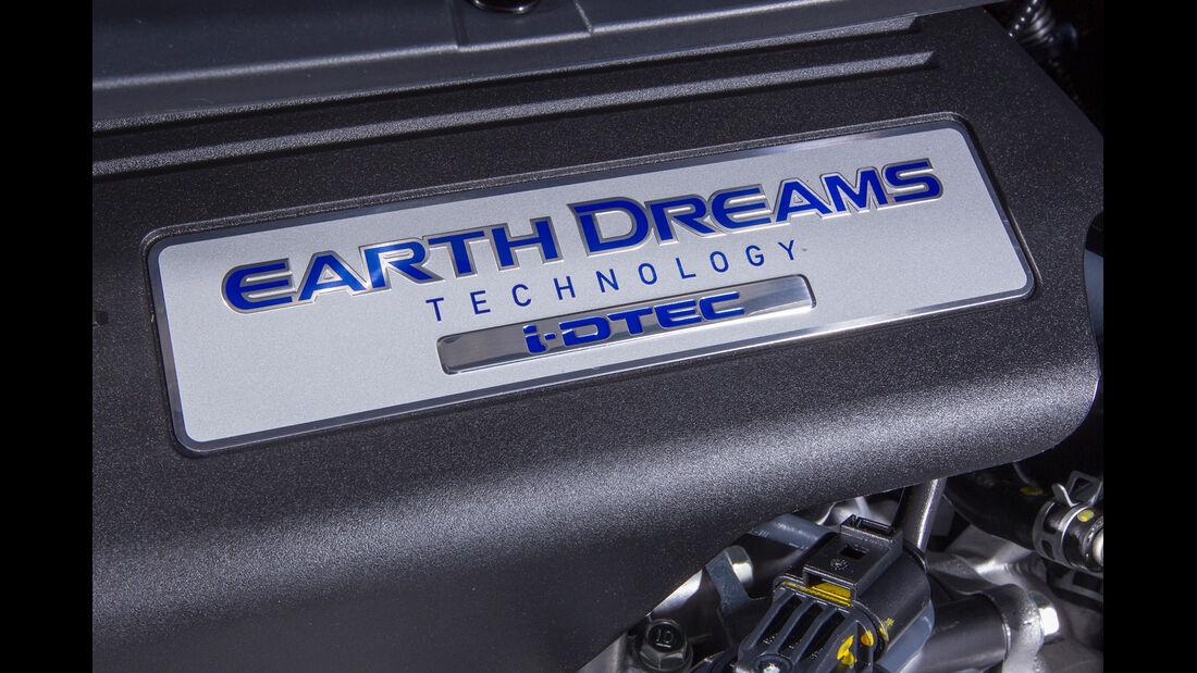 Honda Civic 1.6 i-DTEC, Motorbeschriftung
