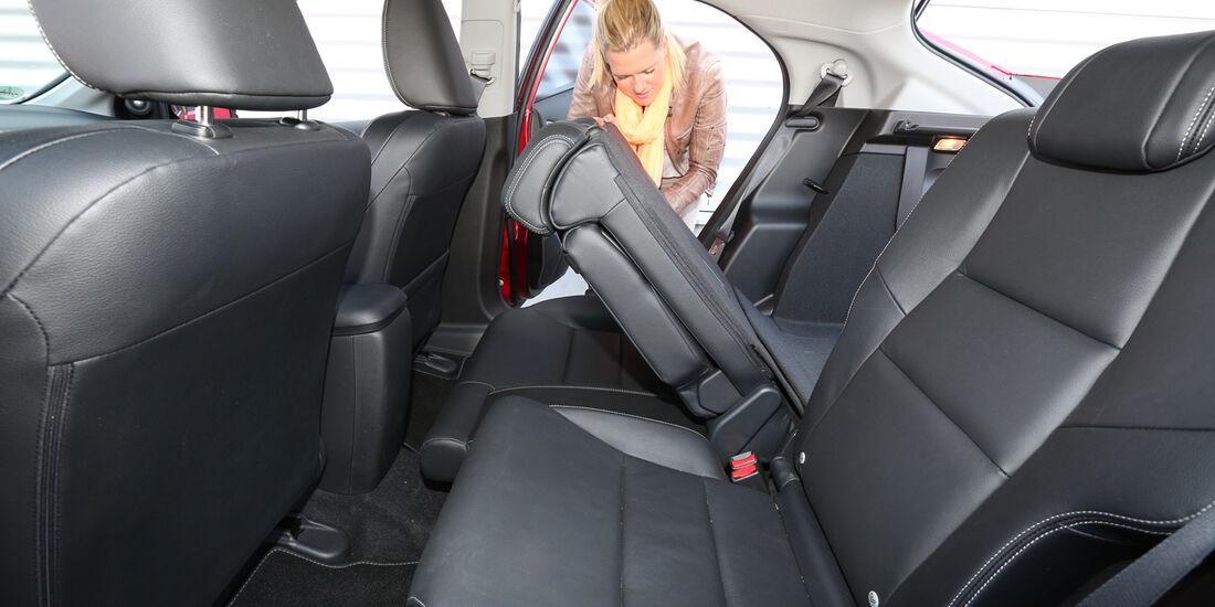 Honda Civic 1.6 i-DTEC, Rücksitz, Umklappen