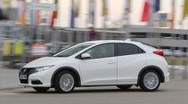 Honda Civic 1.6 i-DTEC, Seitenansicht