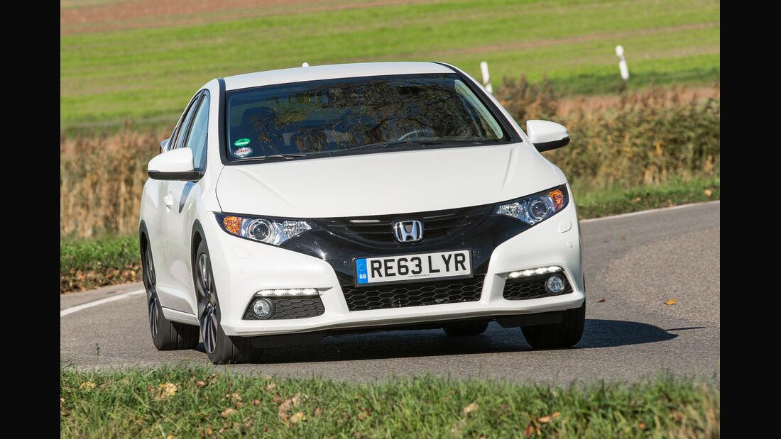 Honda Civic 1.6i-DTEC, Frontansicht