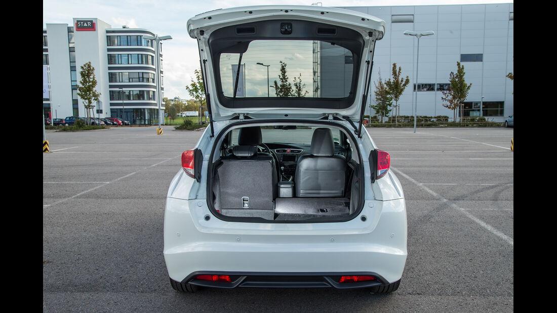 Honda Civic 1.6i-DTEC, Kofferraum