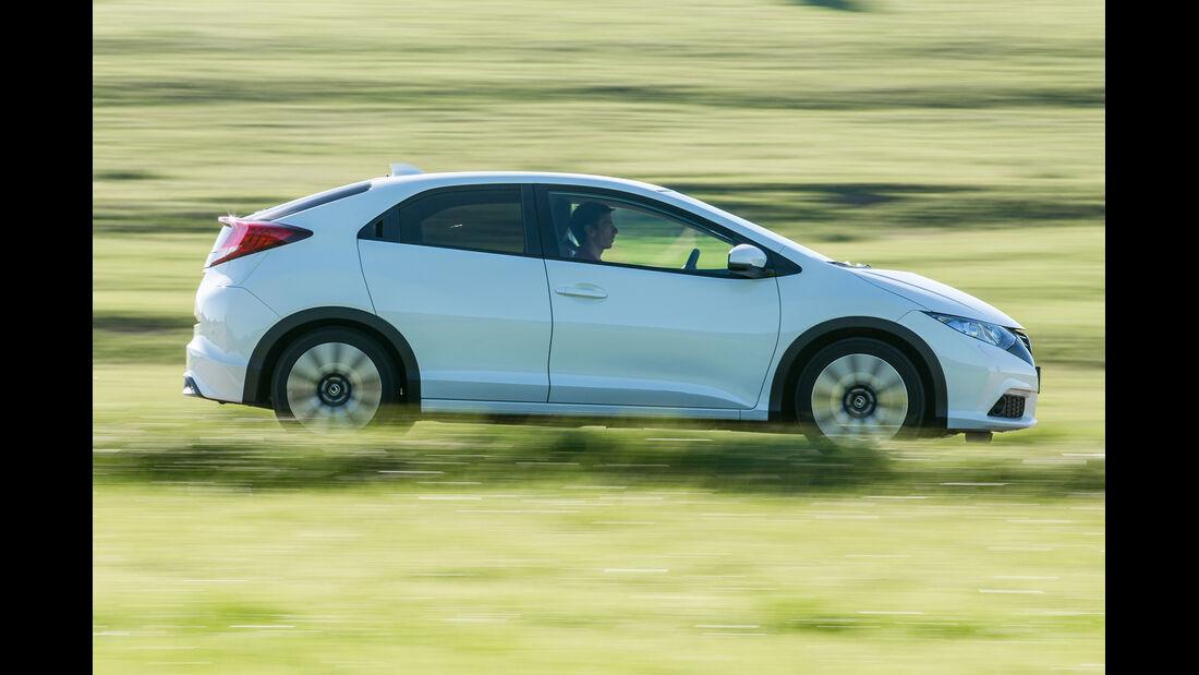 Honda Civic 1.6i-DTEC, Seitenansicht