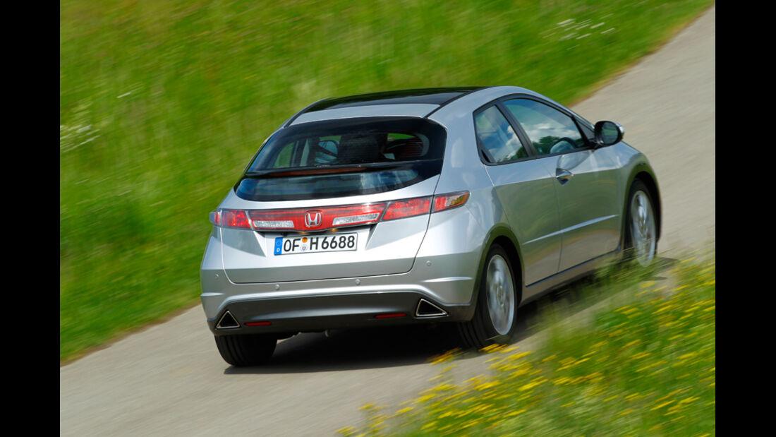 Honda Civic 1.8, Heck, Heckansicht