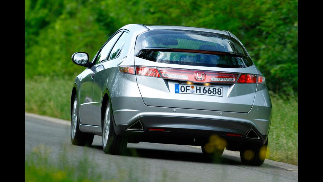 Honda Civic 1.8, Heck, Rückansicht