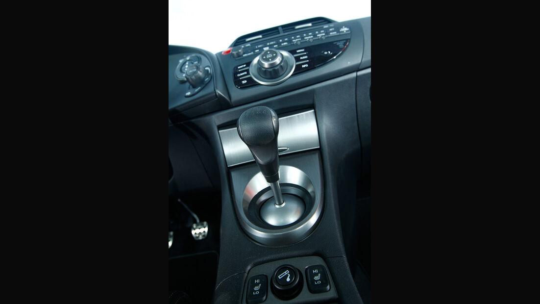 Honda Civic 1.8, Mittelkonsole, Schalthebel, Schaltknauf