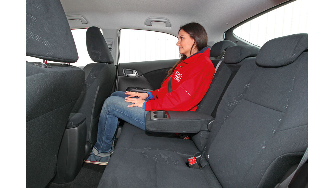 Honda Civic 1.8 i-VTEC Sport, Kofferraum